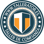 Sello de certificación Tallerator